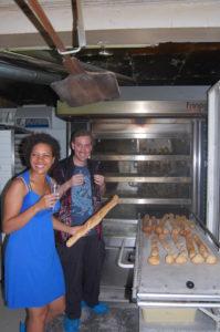 Fin de cuisson de nos pains