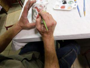 Atelier peinture sur céramique