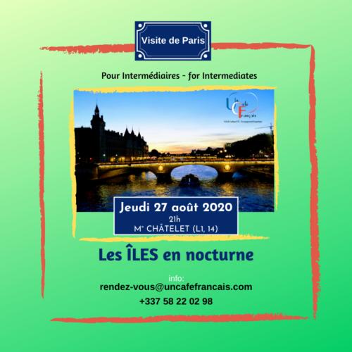 Vignette carrée visite de paris 27 aout 2020